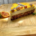 Lime-coffee-oranke Cake