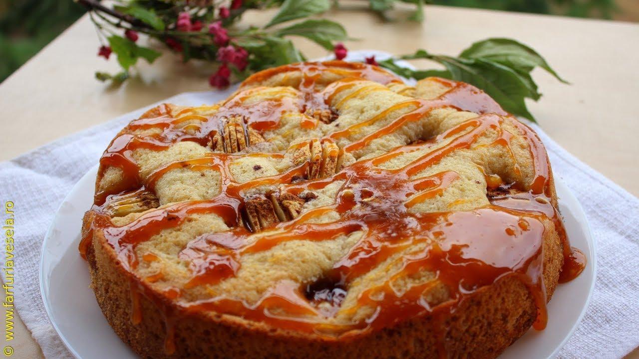 Tort de mere cu caramel